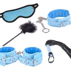 Bondage kit for beginners - Blue