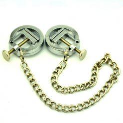 Nipple clamps metal