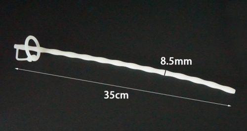 Silicone urethral sounding probe Black