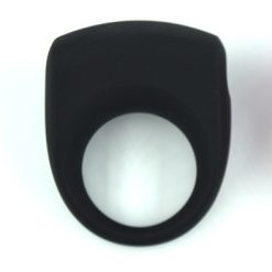 Silicone cockring Black