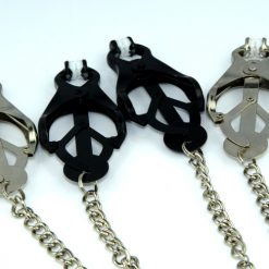 Metal Nipple Clamps with Chainlink