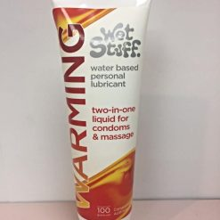 Wet Stuff warming water based lubricant 100 gram tube