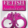 Fetish Fantasy Anodized Cuffs, Pink