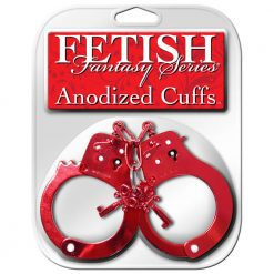 FETISH FANTASY SERIES ANODIZED CUFFS RED