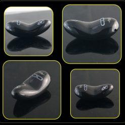 Rechargable handheld ergonomic vibrator