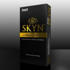 Ansell Skyn Non-Latex Condoms 10 pack
