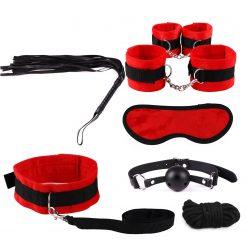 Soft material bondage kit
