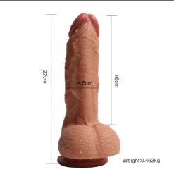 "8.5"" Super Real Feeling Suction Cap Dong"