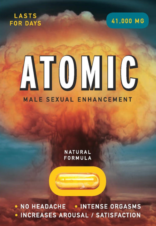 Atomic sex pill 6 pack